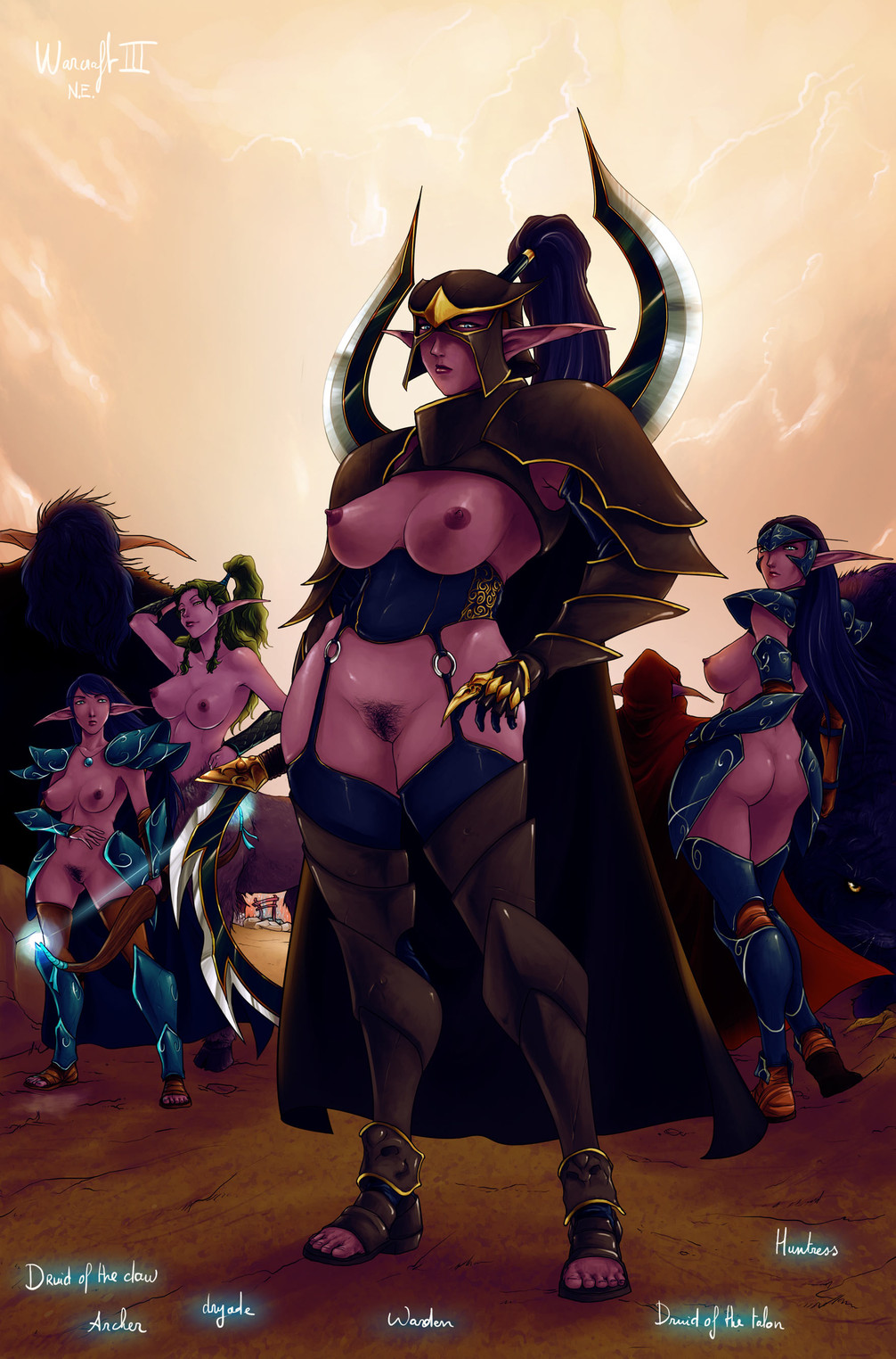 of warcraft paheal world Naked lucy from fairy tail