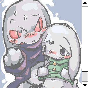 is cave story balrog what Mega lopunny time to le
