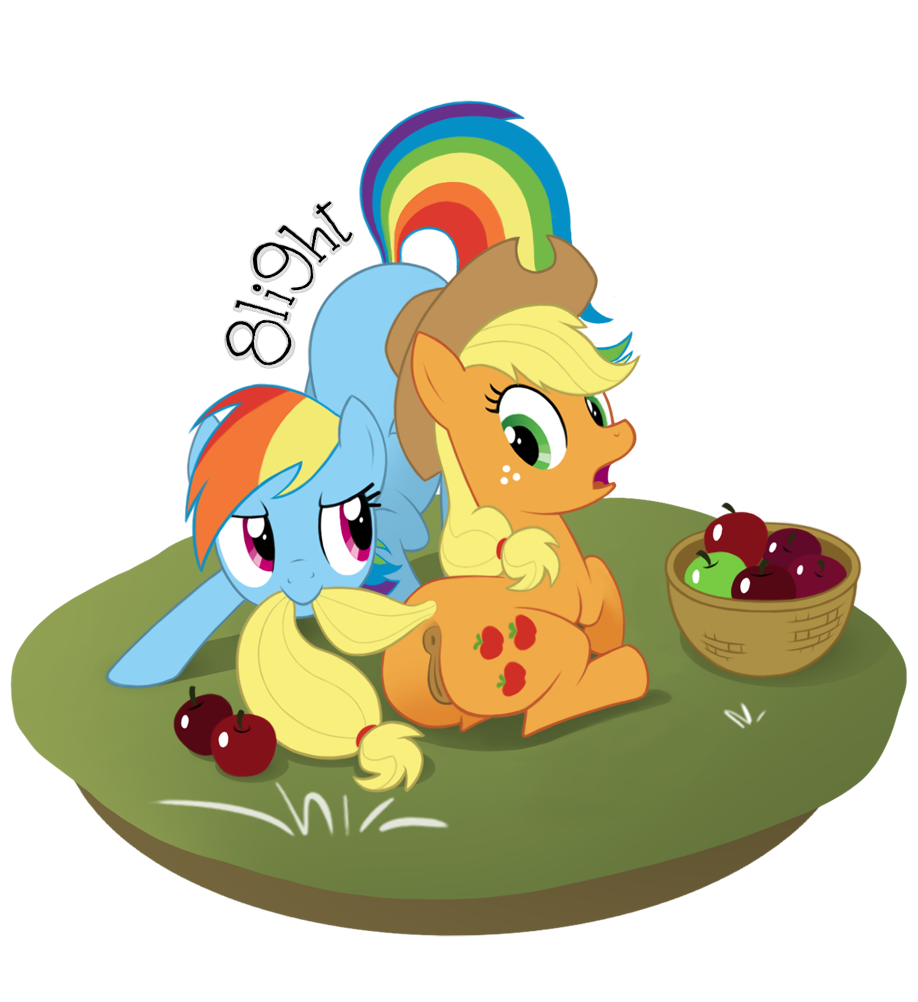 dash rainbow naked little my pony Baldi's basics in education and learning playtime