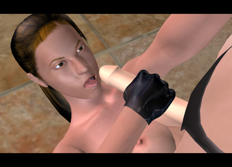 horse 3d and croft lara Mtf breast growth time lapse