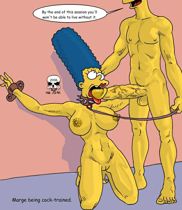 simpson naked marge bart with League of legends leblanc porn