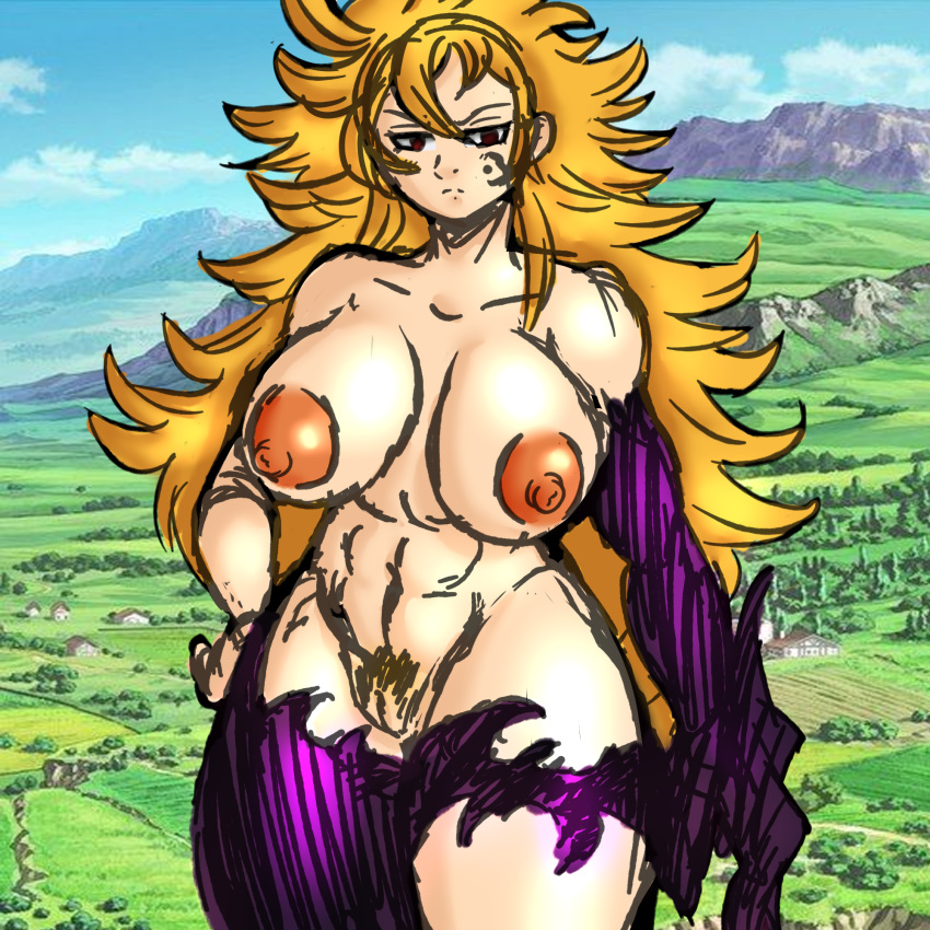 the seven naked sins deadly Dragon ball super ribrianne porn
