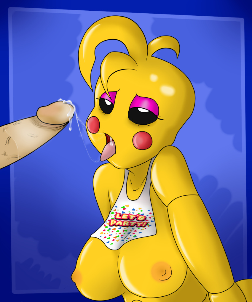 chica freddy toy fnaf x Land of the lustrous yellow diamond