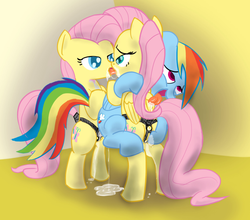 my pony rainbow naked little dash Lady devil may cry art