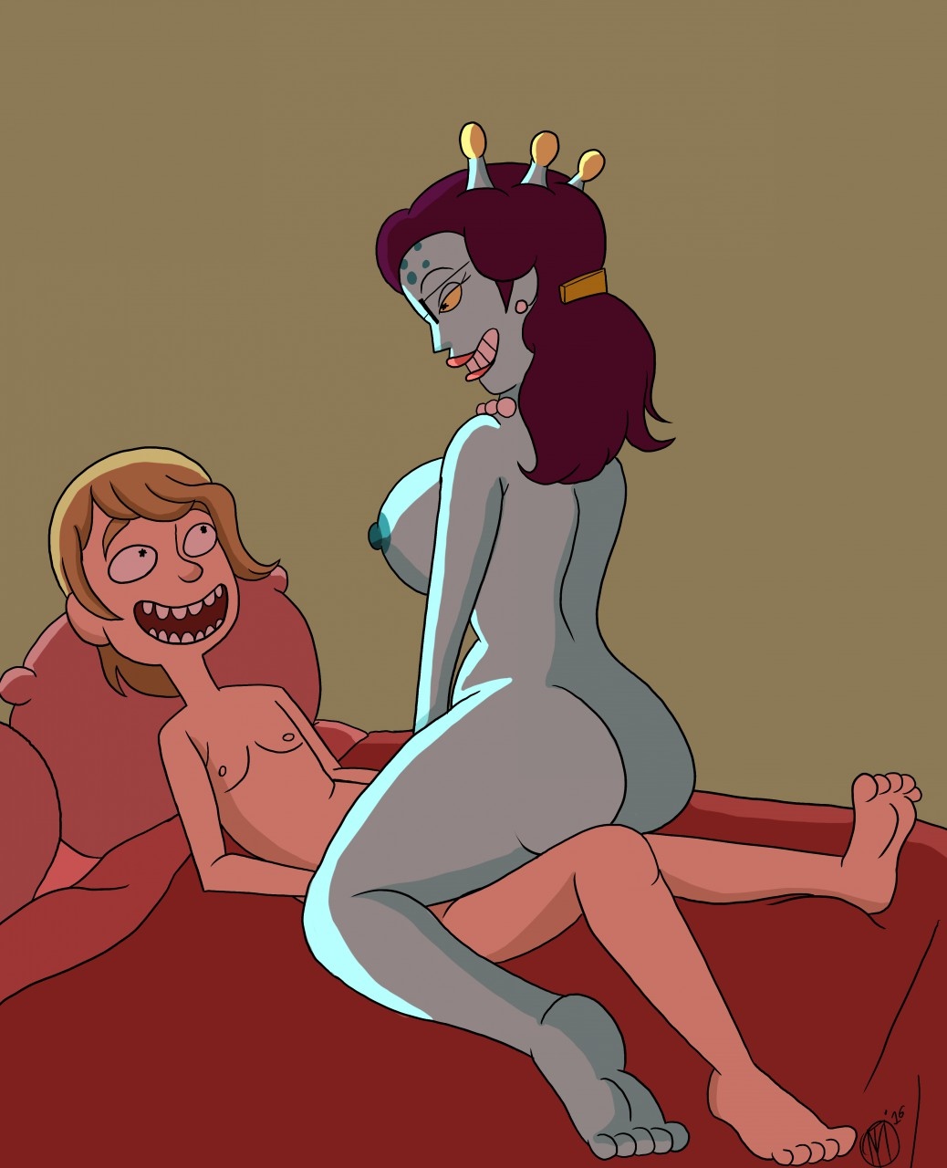 naked from and morty summer rick Female night elf warrior animations